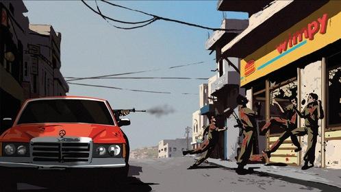 «Вальс с Баширом» — кадры