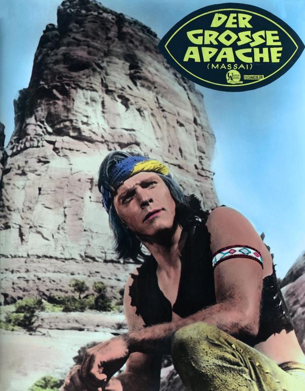 Фильм «Апач» (1954): 600x768