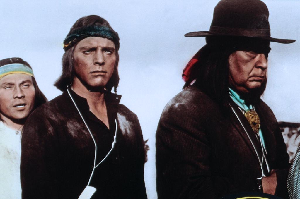 Фильм «Апач» (1954): Берт Ланкастер, Монте Блу 1024x680