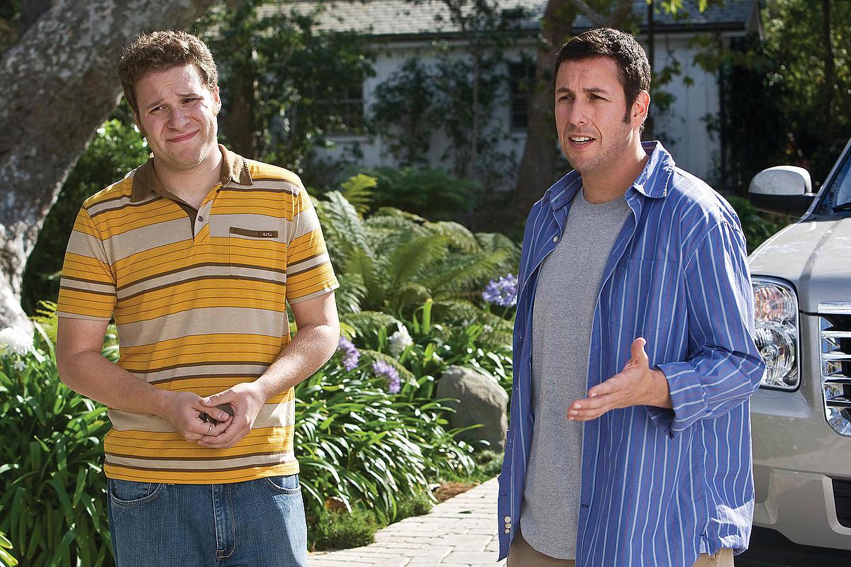 Фільм «Кумедні люди» (2009): Сет Роґен, Адам Сендлер 1200x800