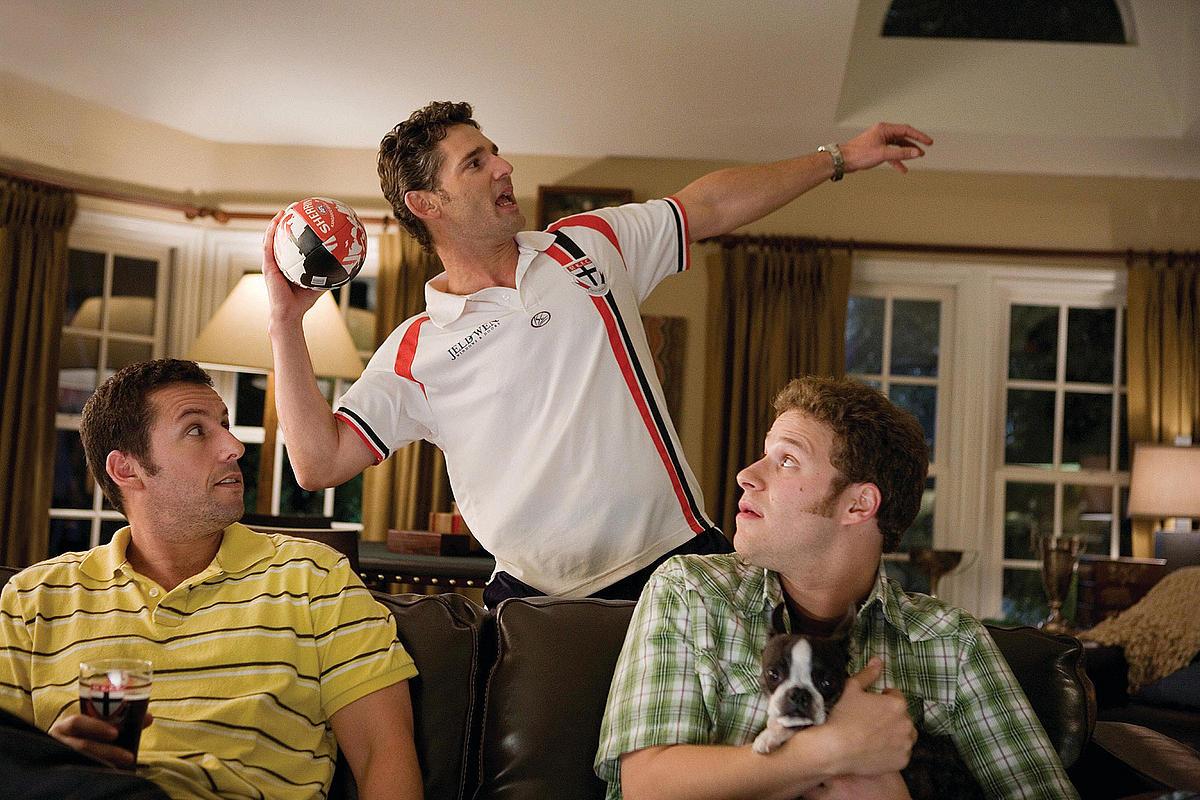 Фільм «Кумедні люди» (2009): Адам Сендлер, Ерік Бана, Сет Роґен 1200x800