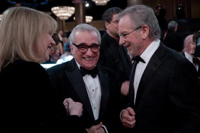 Фільм «66-а церемонія вручення премії «Золотий глобус»» (2009): Мартін Скорсезе, Стівен Спілберґ 400x266