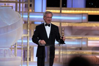 Фільм «66-а церемонія вручення премії «Золотий глобус»» (2009): Стівен Спілберґ 400x267