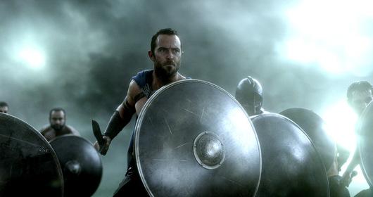 «300 спартанців: Відродження імперії» — кадры