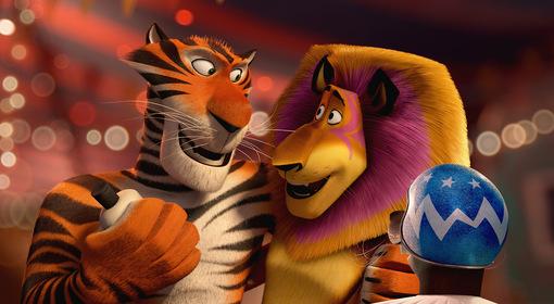 «Мадагаскар 3» — кадры