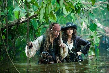 «Пираты Карибского моря: На странных берегах» — кадры