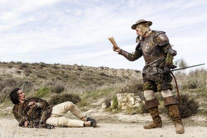 «Людина, яка вбила Дон Кіхота» — кадри