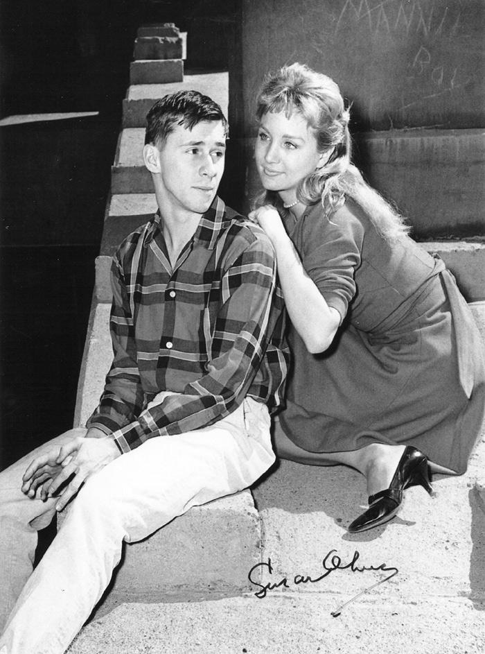Серіал «Театр 90» (1956 – 1961): Берт Бринкерхофф, Сьюзен Олівер 3 сезон, 25 епізод — «A Trip to Paradise» 700x943