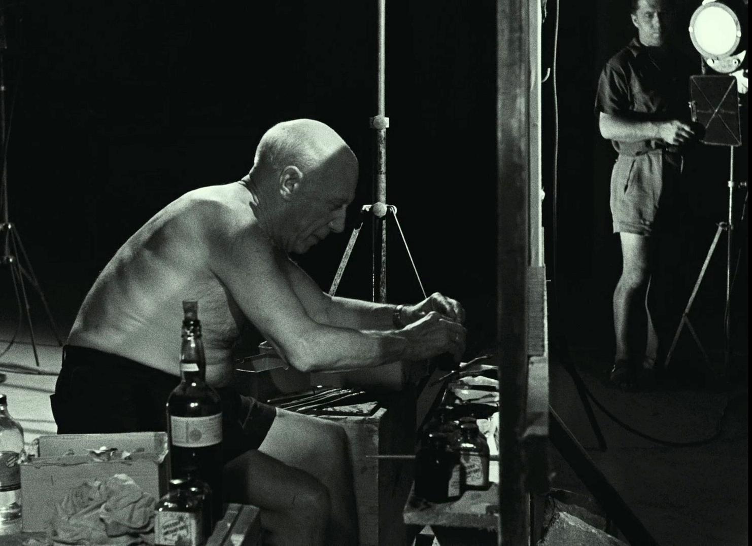 Фільм «Тайна Пикассо» (1956): Пабло Пікассо 1482x1077