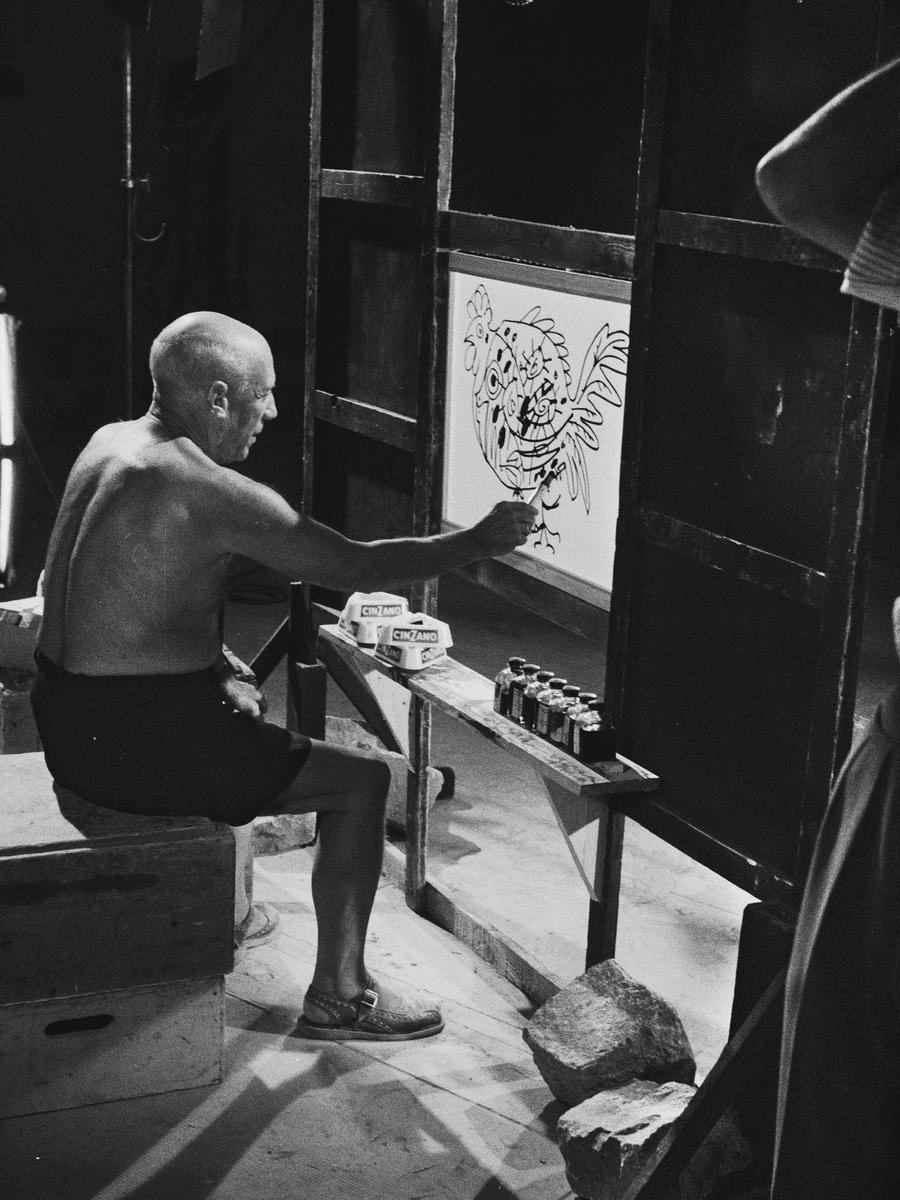 Фільм «Тайна Пикассо» (1956): Пабло Пікассо 900x1200