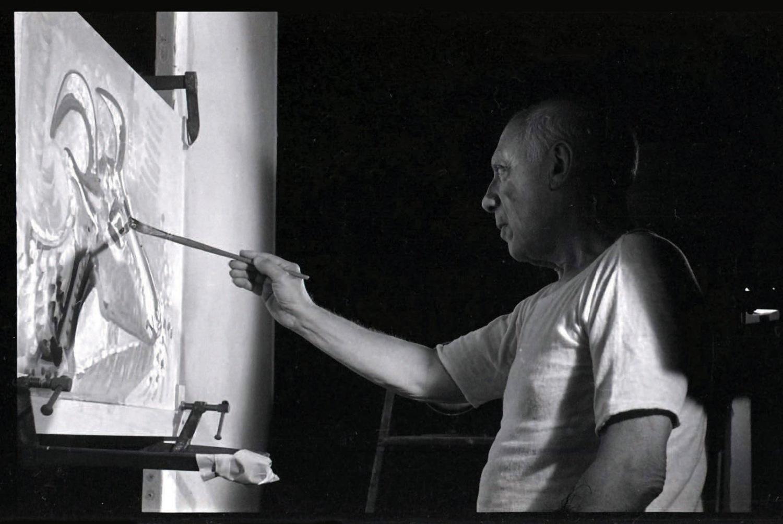 Фільм «Тайна Пикассо» (1956): Пабло Пікассо 1500x1005