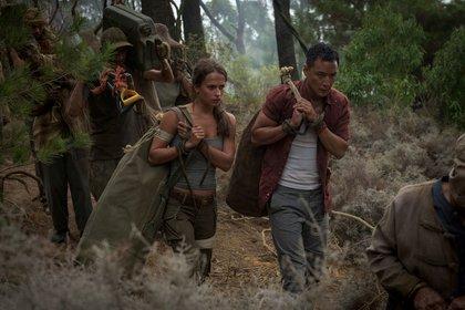 «Tomb Raider: Лара Крофт» — кадры