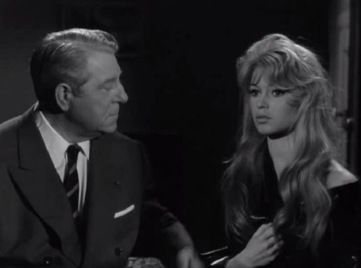 Фільм «У разі нещастя» (1958): Бріжіт Бардо, Жан Габен 725x539