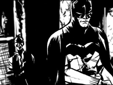 «Бэтмен: Чёрное и белое» — кадри