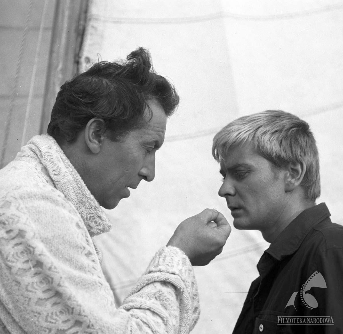 Фільм «Ніж у воді» (1962): Леон Нємчик, Зигмунт Маляновіч 1200x1169