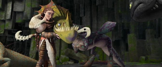 «Як приборкати дракона 2» — кадри