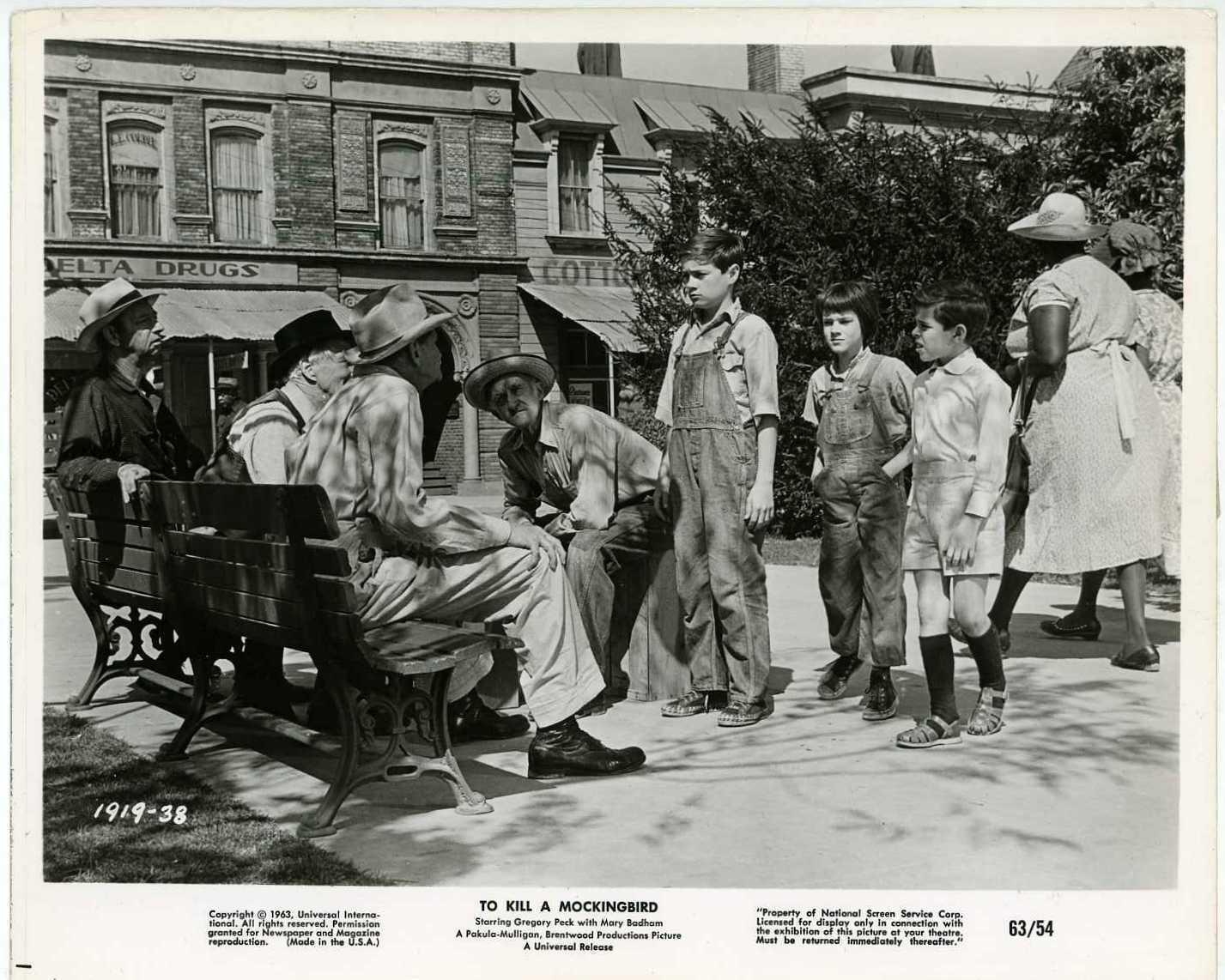 Фильм «Убить пересмешника» (1962): 1427x1142