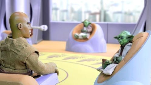 «Робоцип: Зоряні війни. Епізод III» — кадри