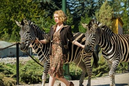 «Дружина доглядача зоопарку» — кадри