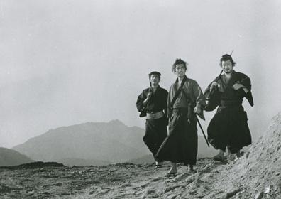 «Три самурая вне закона» — кадри