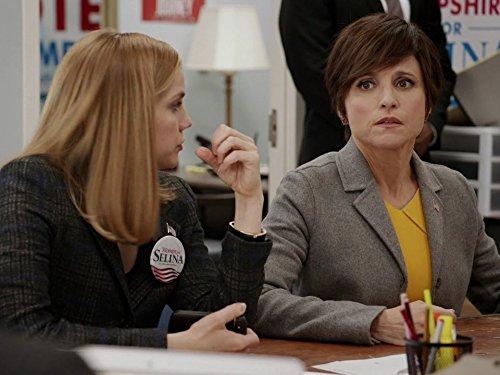 Серіал «Віце-президент» (2012 – 2019): Джулія Луіс-Дрейфус, Ганна Кламскі 3 сезон, 10 епізод — «Нью-Гемпшир» (New Hampshire) 500x375
