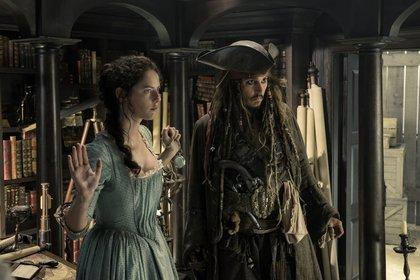 «Пираты Карибского моря: Мертвецы не рассказывают сказки» — кадры
