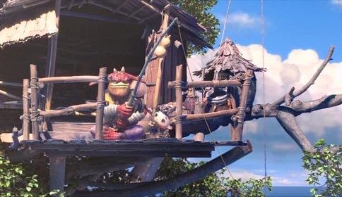 «Монстры на острове 3D» — кадры