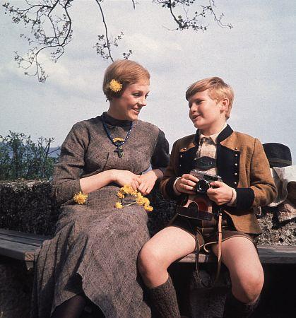 Фильм «Звуки музыки» (1965): Джули Эндрюс, Дуан Чейз 419x450