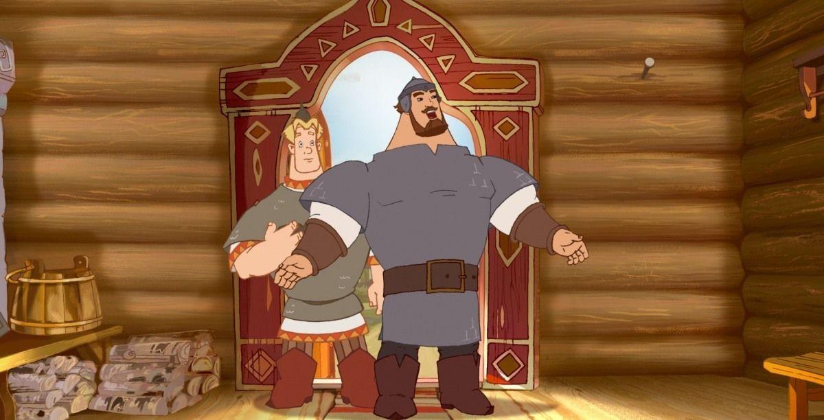 Мультфильм «Три богатыря и Шамаханская царица» (2010): 1200x648