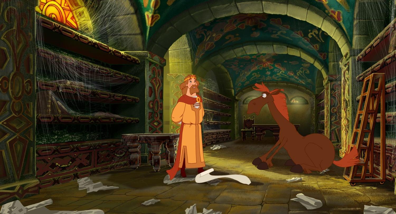 Мультфильм «Три богатыря и Шамаханская царица» (2010): 1500x811