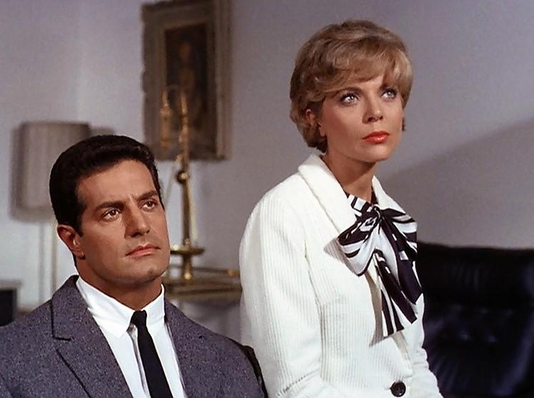 Серіал «Місія: Нездійсненна» (1966 – 1973): Барбара Бейн, Питер Люпус 1 сезон, 4 епізод — «Побег старика. Часть 1» (Old Man Out (1)) 749x559
