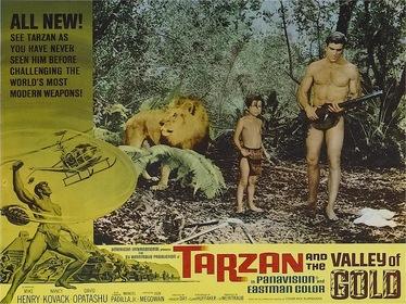 «Тарзан и Золотая долина» — кадри