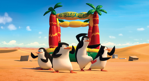 «Пінгвіни Мадагаскару» — кадри