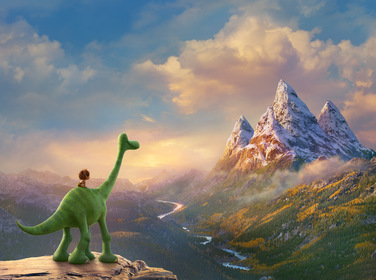 «Добрий динозавр» — кадри