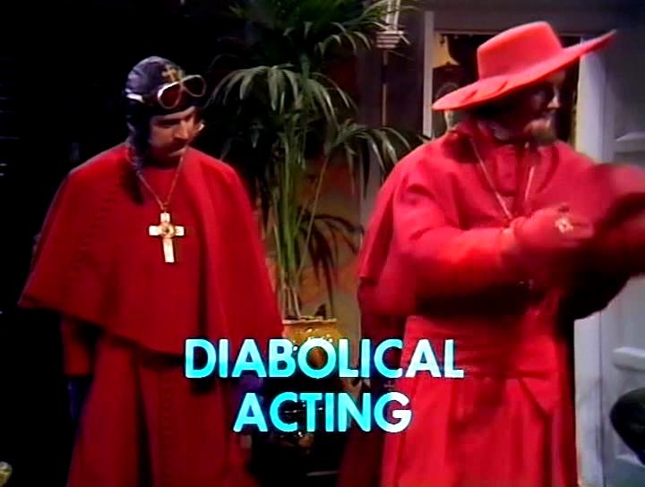 Серіал «Монті Пайтон: Літаючий цирк» (1969 – 1974): Майкл Пелін, Террі Джонс 2 сезон, 2 епізод — «The Spanish Inquisition» 720x544