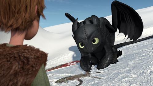 «Драконы: Подарок ночной фурии» — кадры