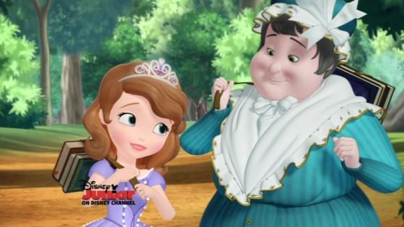 Сериал «София Прекрасная» (2012 – 2018): 1 сезон, 8 эпизод — «Экзамен для принцесс» (The Princess Test) 580x326