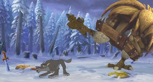 «Иван Царевич и Серый Волк» — кадры