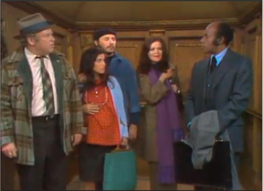 Серіал «Справи сімейні» (1971 – 1979): 2 сезон, 14 епізод — «The Elevator Story» 876x636