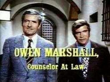 «Оуэн Маршалл, советник адвокатов» — кадри