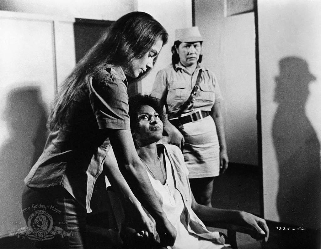 Фильм «Черная мама, белая мама» (1973): Пэм Гриер, Лори Бертон 1023x796