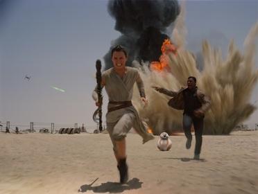 «Звёздные войны: Пробуждение силы» — кадры
