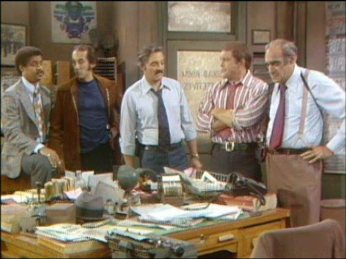 Серіал «Барни Миллер» (1975 – 1982): Рон Гласс, Хел Лінден, Абе Віґода, Грегорі Сьєрра, Макс Гейл 2 сезон, 4 епізод — «Ambush» 500x375