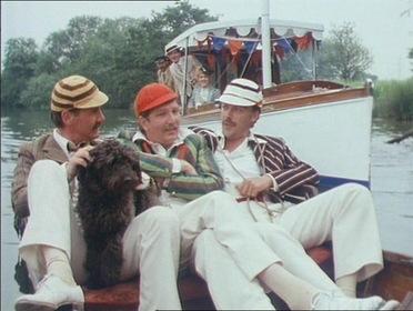 «Трое в лодке, не считая собаки» — кадри