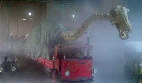 «Зниклий динозавр» — кадри