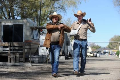 «Техасский рейнджер» — кадры