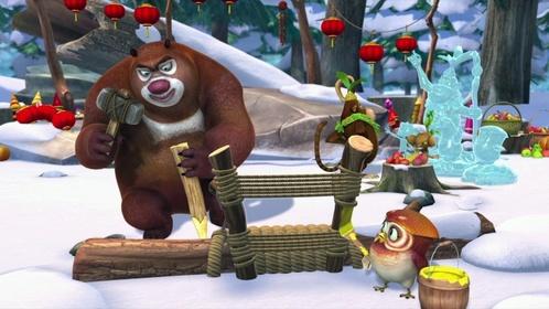 «Ведмеді-сусіди: Зимові канікули» — кадри