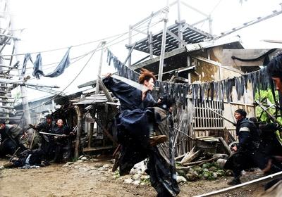 «Бродяга Кэнсин: Великий киотский пожар» — кадры