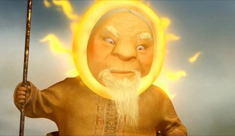 «Как помирились Солнце и Луна» — кадры