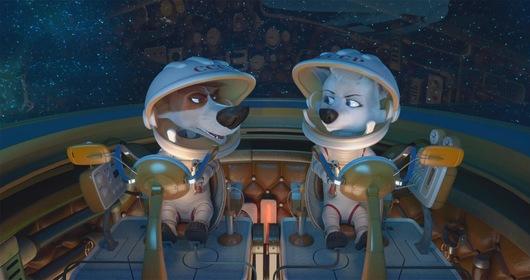 «Белка и Стрелка: Лунные приключения» — кадры